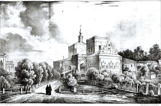 Симонов монастырь. Конец 19 века.